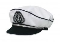 """Адмиралка кп165к-15 белая, с регулировкой,  серебр. шнур от Магазин спецодежды """"URSUS"""""""